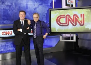 Piers Morgan replaces Larry King