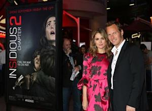 """Actors Rose Byrne and Patrick Wilson arrive for the premiere of their new film """"Insidious Chapter 2"""" in Los Angeles"""