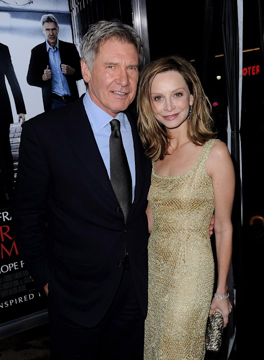 Extraordinary Measures LA Premiere 2010 Harrison Ford Calista Flockhart