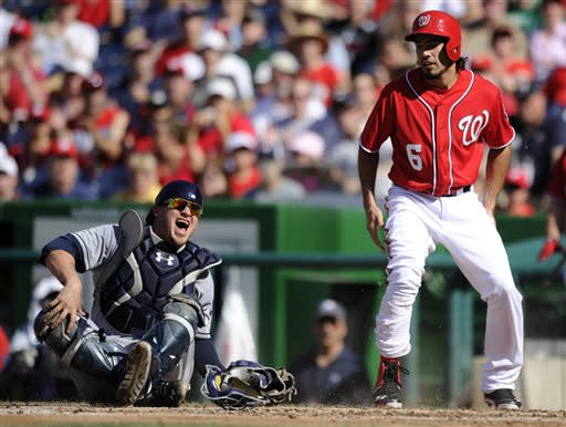Harper lobbies to play and helps Nats rally to win