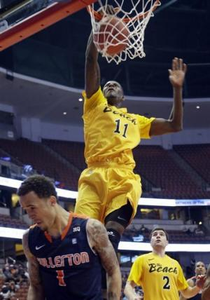 Long Beach St. holds off Cal State Fullerton 75-66
