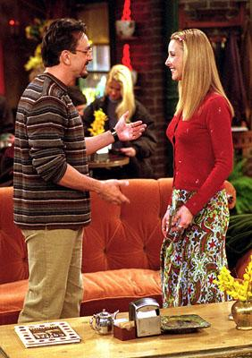 "Hank Azaria and Lisa Kudrow in ""The One With All The Cheesecakes"" in NBC's Friends"