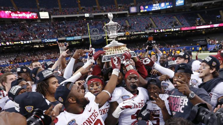 Oklahoma beats Alabama 45-31 in Sugar Bowl - Yahoo Sports
