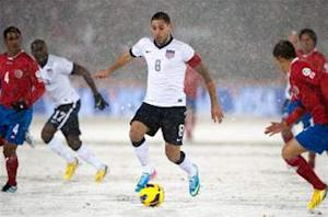 USA 1-0 Costa Rica: Americans fight through wintry conditions to earn three points