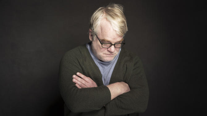 "In this Jan. 19, 2014 photo, Philip Seymour Hoffman poses for a portrait at The Collective and Gibson Lounge Powered by CEG, during the Sundance Film Festival, in Park City, Utah. Hoffman, who won the Oscar for best actor in 2006 for his portrayal of writer Truman Capote in ""Capote,"" was found dead Sunday, Feb. 2, 2014, in his New York apartment. He was 46. (Photo by Victoria Will/Invision/AP)"