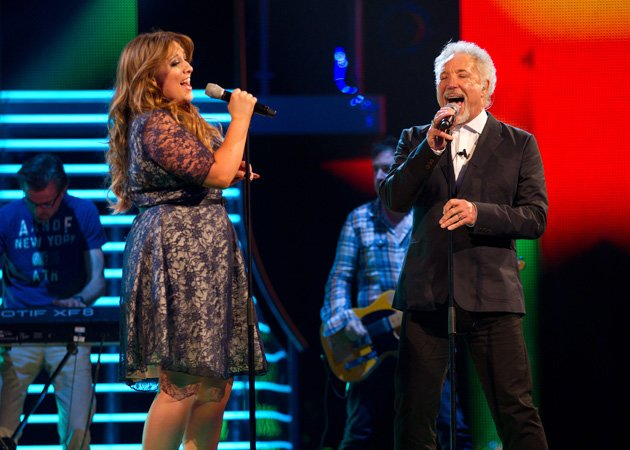 The Voice UK winner, Leanne Mitchell, duet, Tom Jones