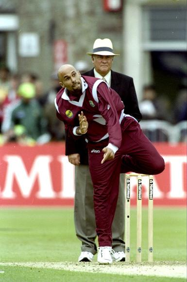 Jimmy Adams of the West Indies
