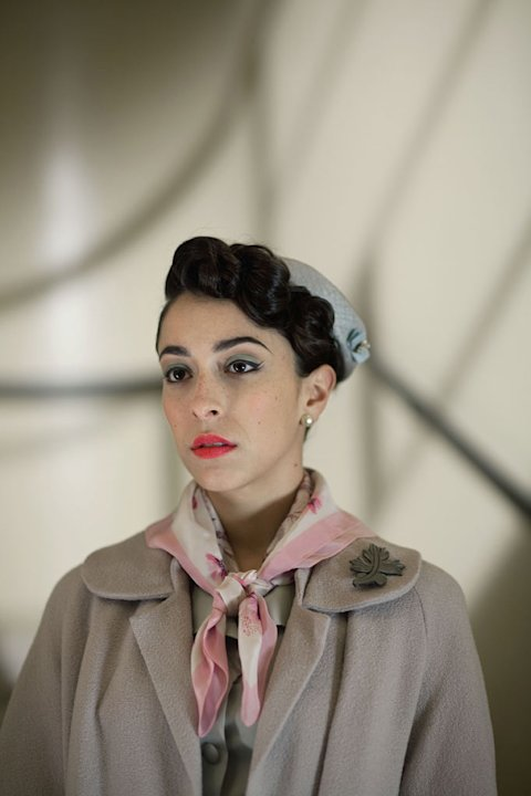 "Oona Chaplin stars as Marnie in ""The Hour."""