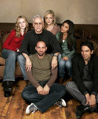Evan Rachel Wood, James Woods, Jane Krakowski, Adi Schnall, director Marcos Siega and writer Skander Halim Pretty Persuasion Portraits - 1/22/2005 Sundance Film Festival