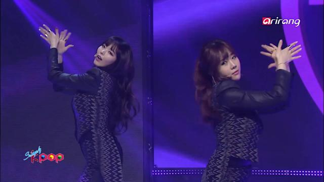 Simply K-Pop :♬ Dal★shabet - B.B.B (Big Baby Baby)