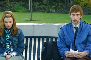 Amber Tamblyn and Joel David Moore in Anchor Bay Entertainment's Spiral
