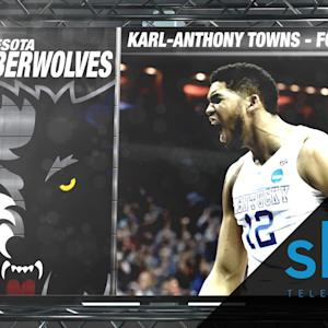 Timberwolves Select Kentucky's Karl-Anthony Towns | NBA Draft Hype Video