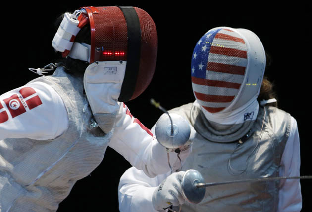 Fencing Masks Take Early Lead In Coolest Uniform Race