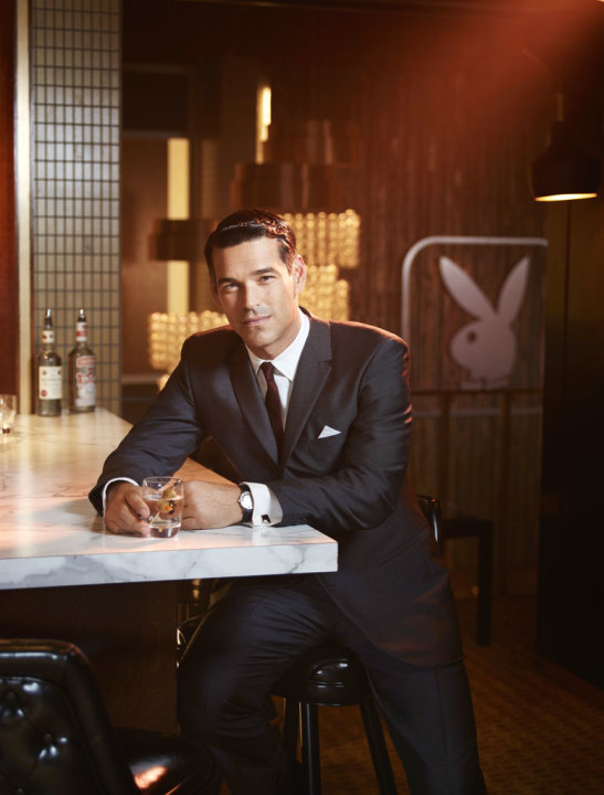 "Eddie Cibrian stars as Nick in ""The Playboy Club."""