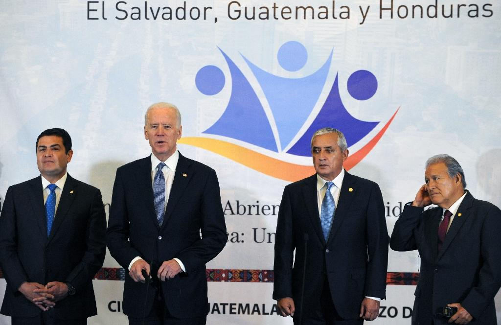 Biden urges Central America to tackle poverty, violence