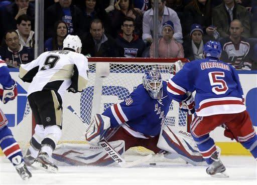 Neal, Malkin lead Penguins to 6-3 win over Rangers