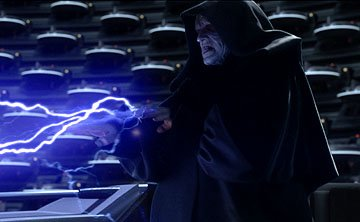 Palpatine ( Ian McDiarmid ) in 20th Century Fox's Star Wars: Episode III
