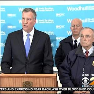 De Blasio To Speak On Bond Between Police, Community As Tensions Mount