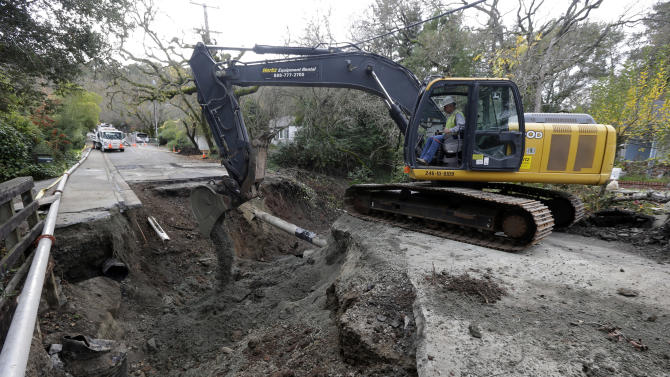 Drenched Northern California gets more rain