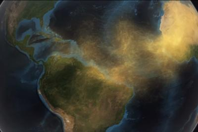NASA reveals how dust from the Sahara fertilizes the Amazon rainforest