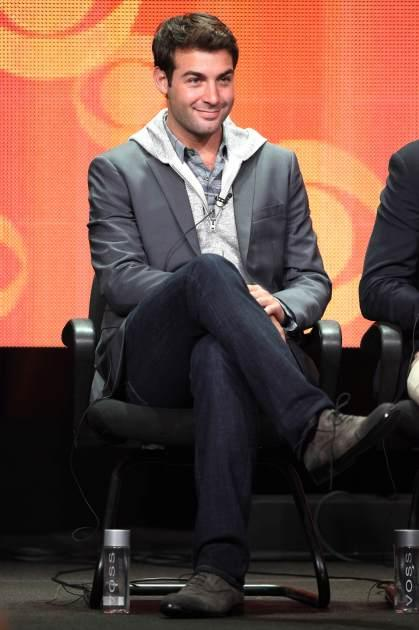 James Wolk of the TV show 'The Crazy Ones' attends the Television Critic Association's Summer Press Tour - CBS/CW/Showtime panels held at The Beverly Hilton Hotel on July 29, 2013 -- Getty Images