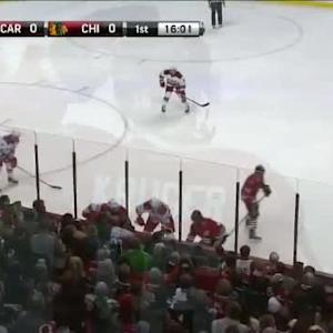 Hurricanes at Blackhawks / Game Highlights