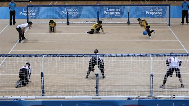 Goalball at the London Paralympics