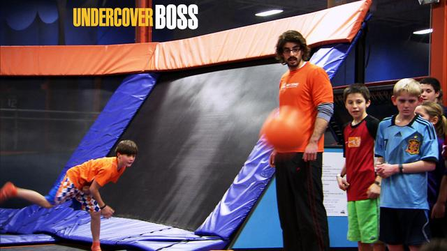 Undercover Boss - Dodgeball Referee