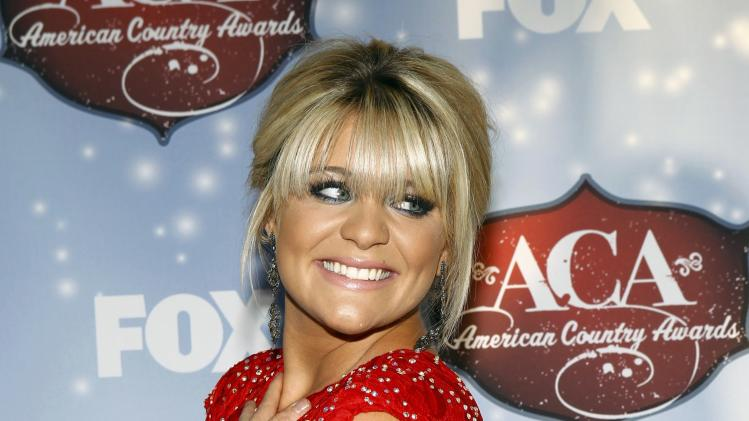 Singer Lauren Alaina poses during the 4th annual American Country Awards in Las Vegas