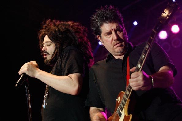 AUSTIN, TX - MARCH 16: Musicians Adam Duritz and David Immergluck of Counting Crows performs onstage at BMI Showcase during the 2012 SXSW Music, Film   Interactive Festival at Austin Music Hall on Mar