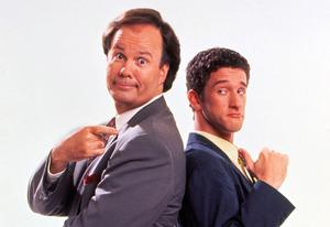 Dennis Haskins, Dustin Diamond | Photo Credits: Everett Collection
