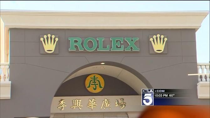 Shots Fired After Man Steals Expensive Rolex From Jewelry Store in Walnut