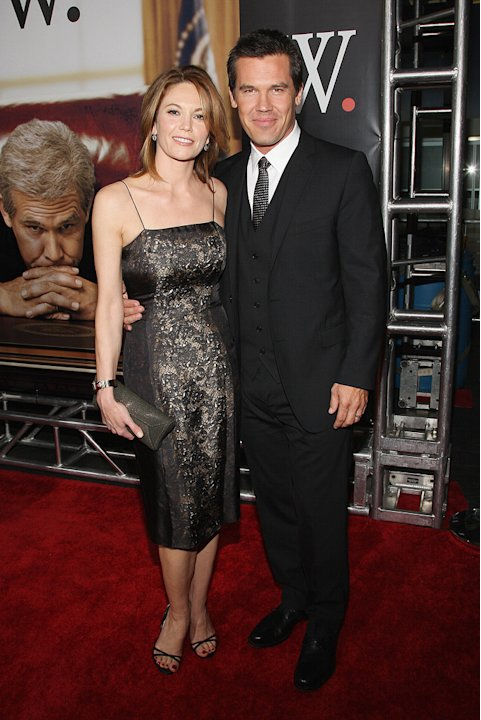 W NY Premiere 2008 Diane Lane Josh Brolin