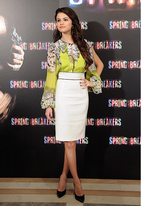 &amp;#39;Spring Breakers&amp;#39; Madrid Photocall