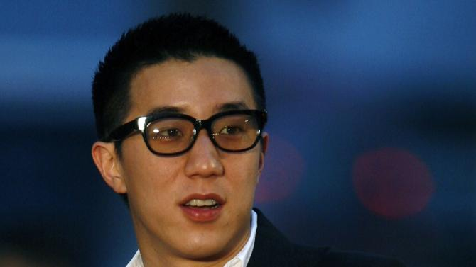 File photo of Hong Kong actor Jaycee Chan arriving at the Hong Kong Film Awards