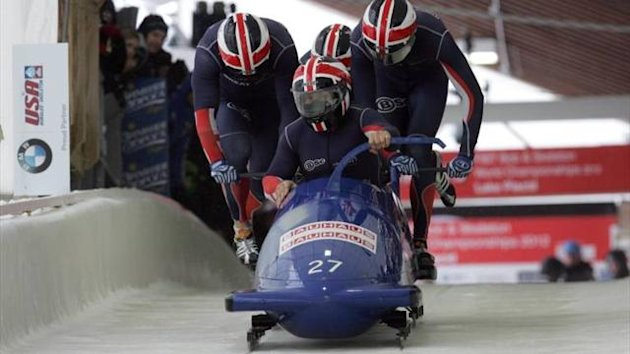 Joel Fearon - British bobsleigh quartet