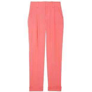 Arthur Cropped Silk Blend Crepe Pants Alice + Olivia: Fashion Trend
