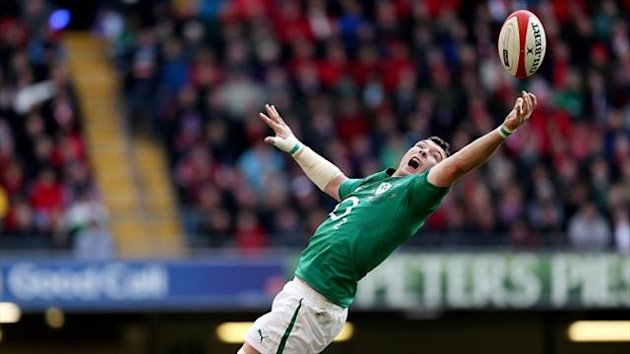 Munster captain Peter O'Mahony scored Ireland's first try against Samoa (PA Sport)