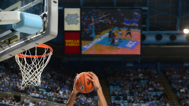 NCAA Basketball: Miami-Florida at North Carolina