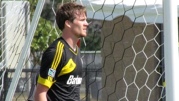 Columbus Crew sign Supplemental Draft pick GK Daniel Withrow