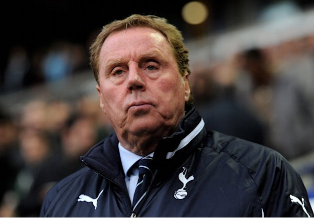)  Tottenham Hotspur Manager Harry Redknapp Looks On Prior To The Barclays Premier League Match Between Bolton Getty Images