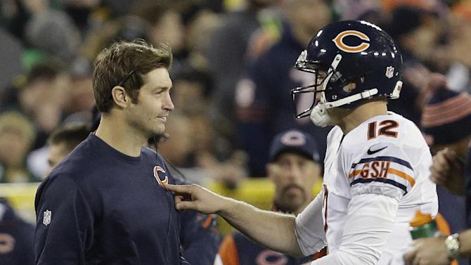 Bears' Cutler to start against Lions