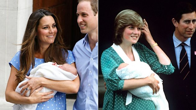 Kate Middleton Channels Princess Diana With Polka-Dot Dress to Present Newborn Son (ABC News)