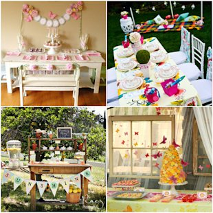 10 Spring-Themed Home Party Ideas