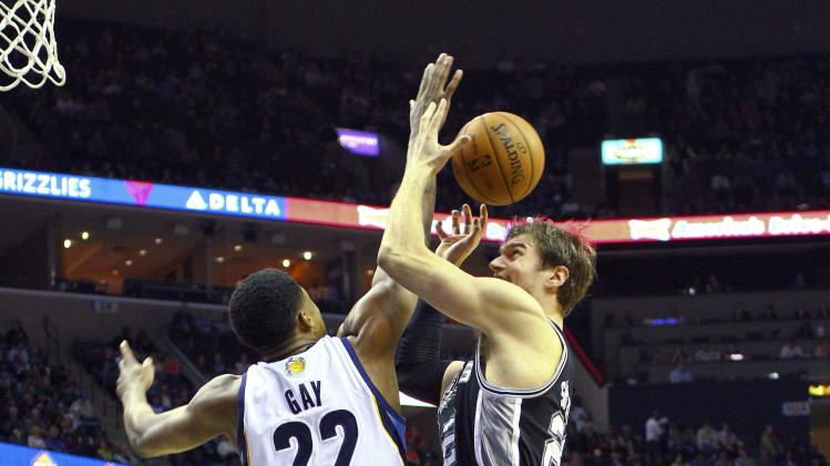 NBA: San Antonio Spurs at Memphis Grizzlies