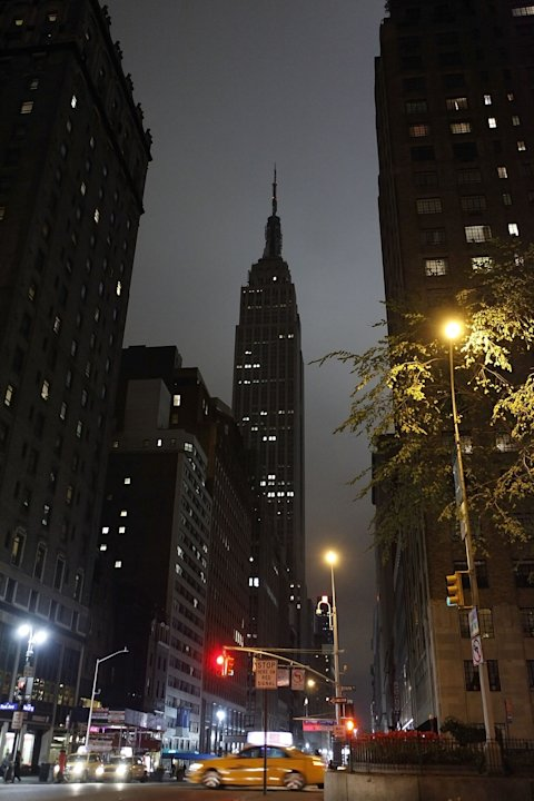 Earth Hour In New York City