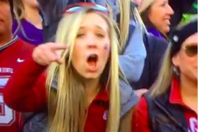 Wazzu fan could not care less about Washington TD