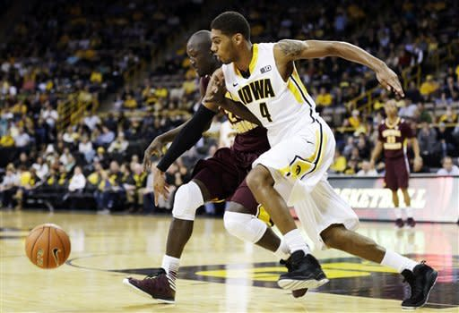 Iowa defeats Central Michigan 73-61