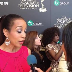 Red Carpet Chat: Shaun Robinson (Daytime Emmys 2014)