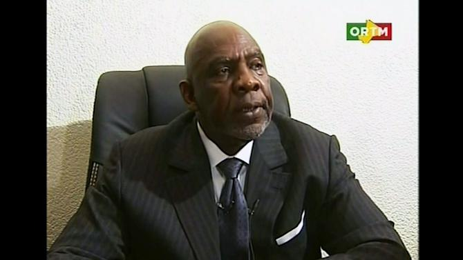In this still frame made from video provided by ORTM Mali TV, Mali's Prime Minister Cheikh Modibo Diarra resigns during a broadcast on state television from Bamako, Mali on Tuesday, Dec. 11, 2012, hours after soldiers who led a recent coup burst into his home and arrested him. (AP Photo/ORTM Mali TV) MALI ACCESS OUT
